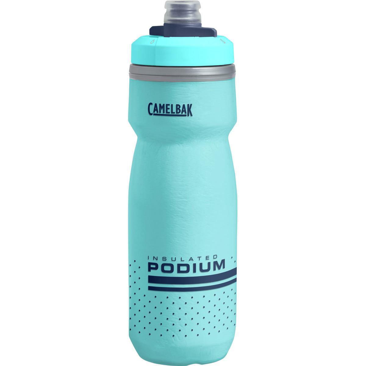 Blå drikkeflaske