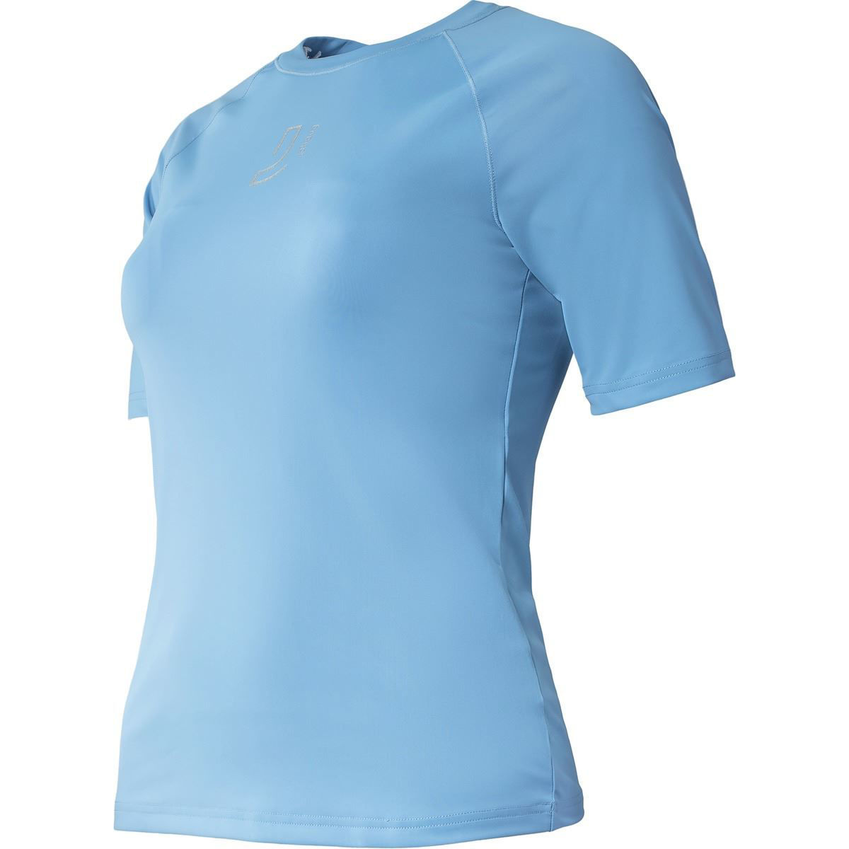 Blå t-skjorte til dame