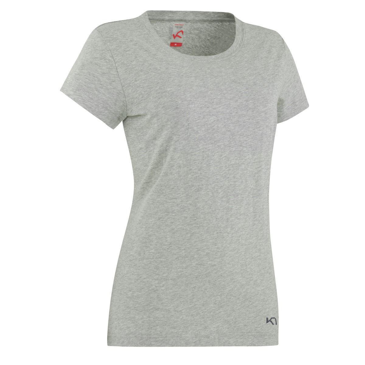 grå T-skjorte til dame
