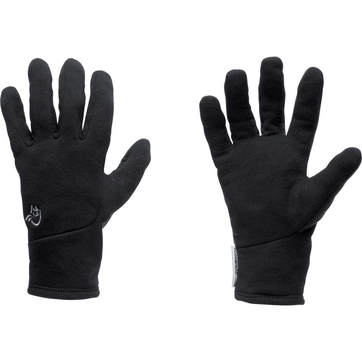 sorte hansker