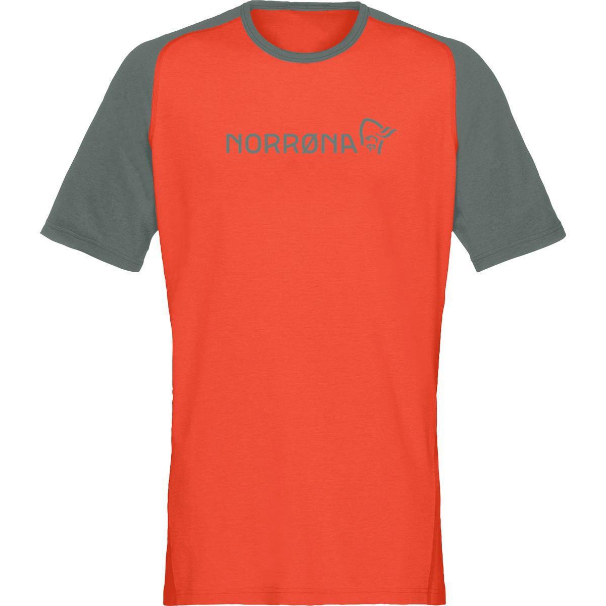 oransje t-skjorte til herre