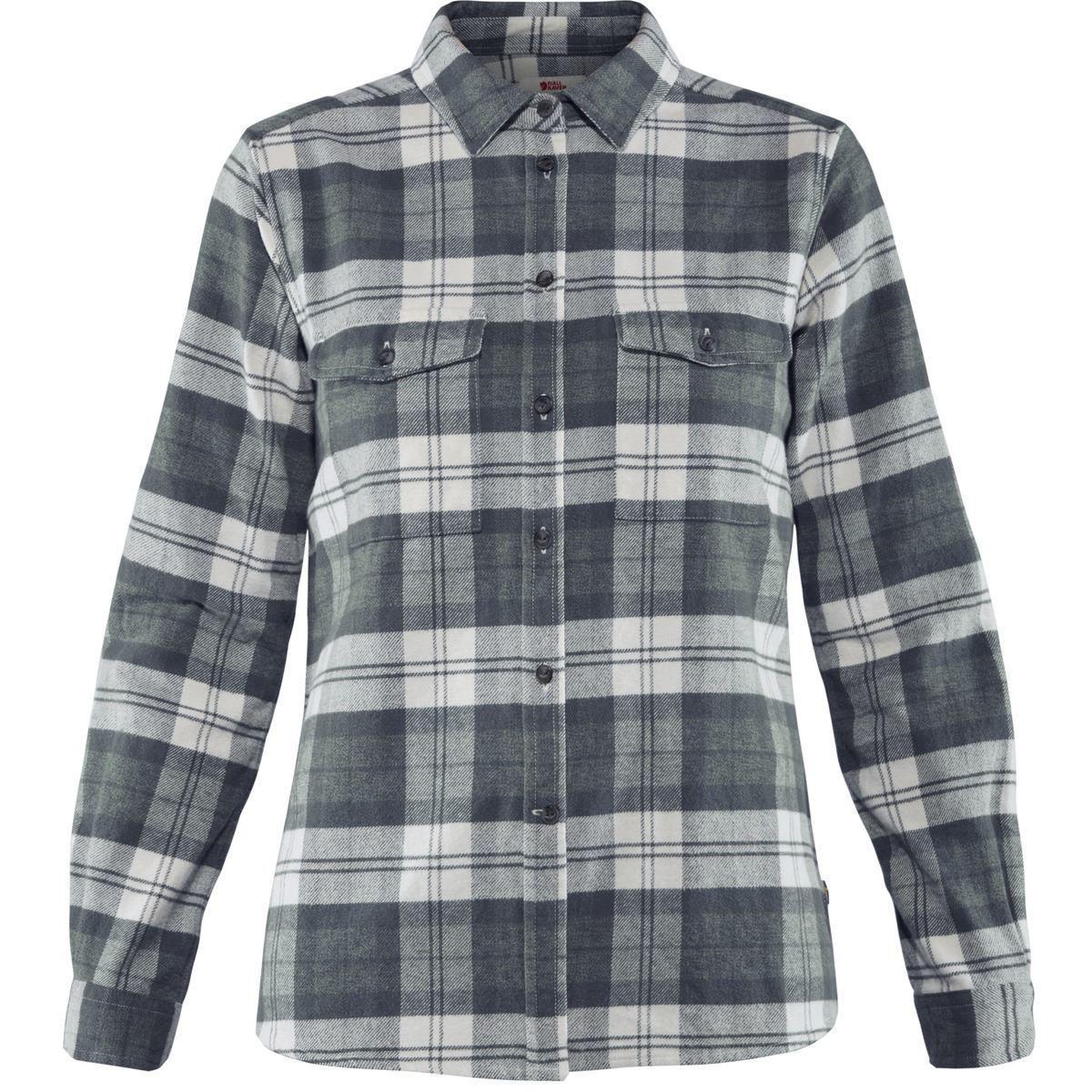 flannelskjorte til dam
