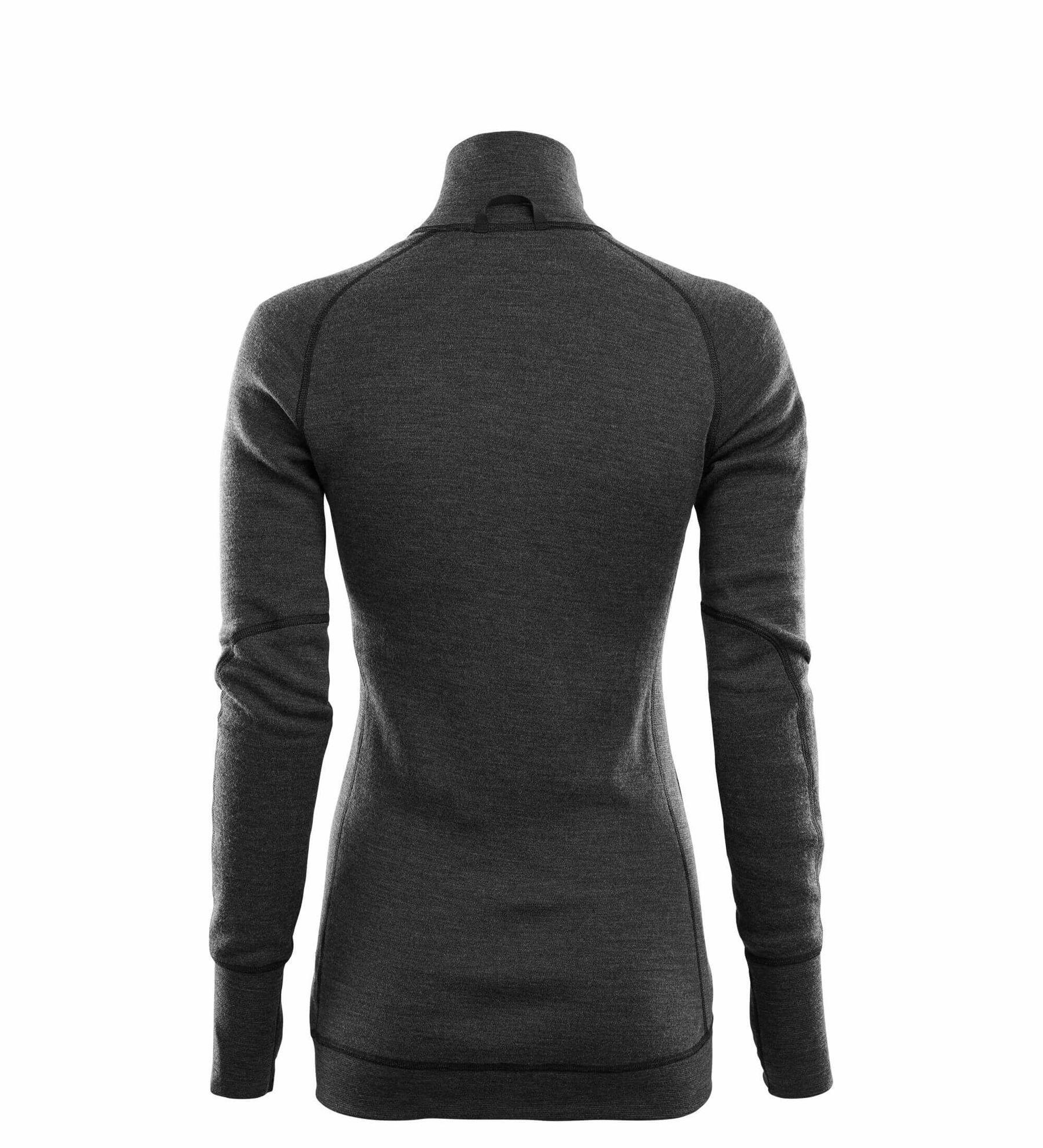 Bilde av DoubleWool Polo Shirt zip, Woman