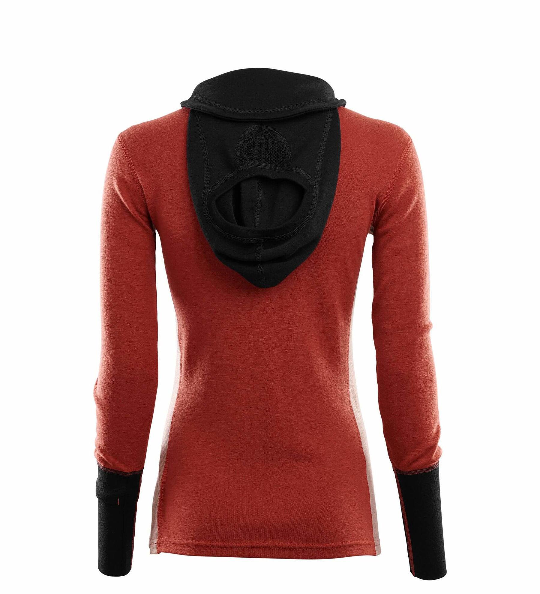 Bilde av WarmWool Hood Sweater w/zip W