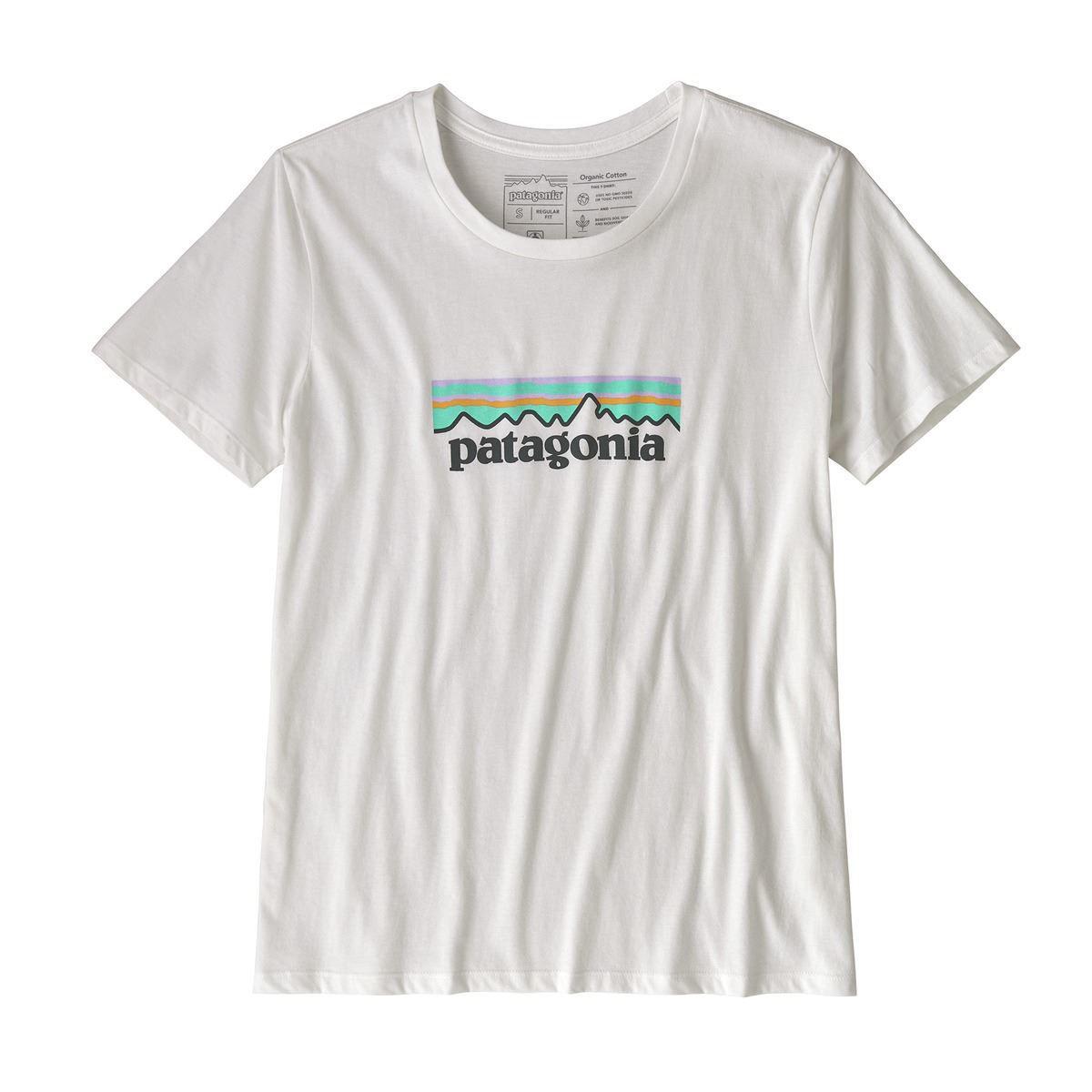 Bilde av W's Pastel P-6 Logo Organic Crew T-shirt