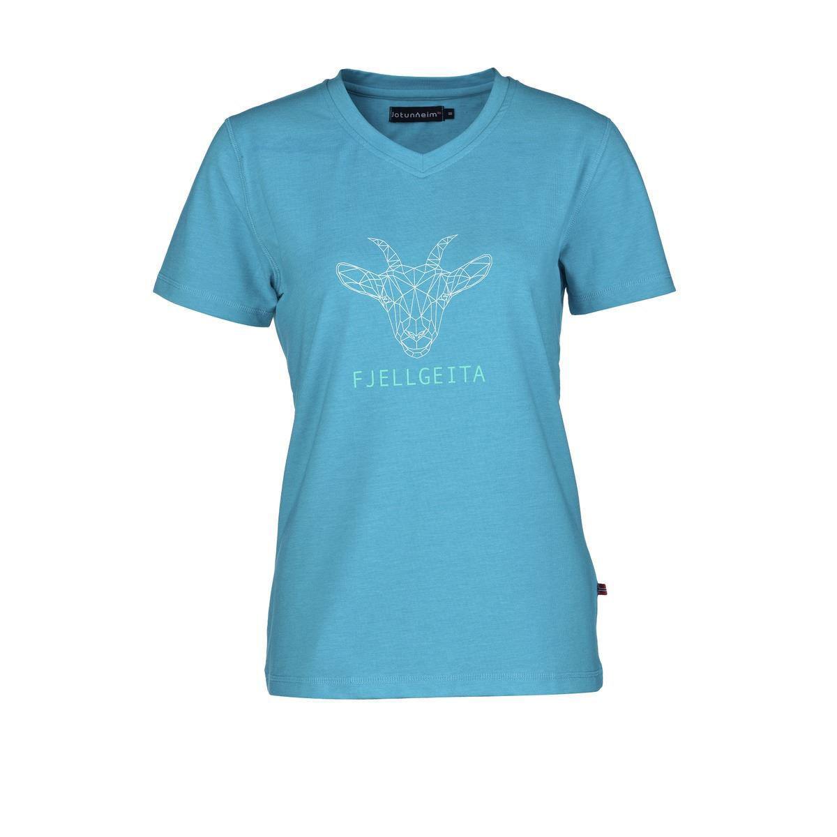 Bilde av Varde T-shirt m print dame