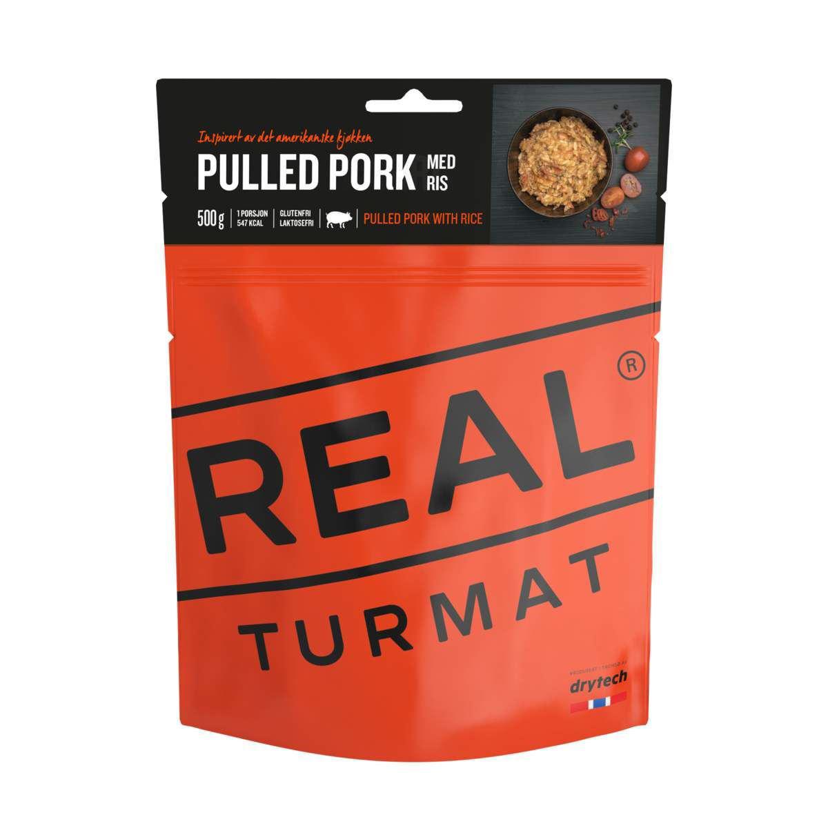 Bilde av Pulled pork med ris