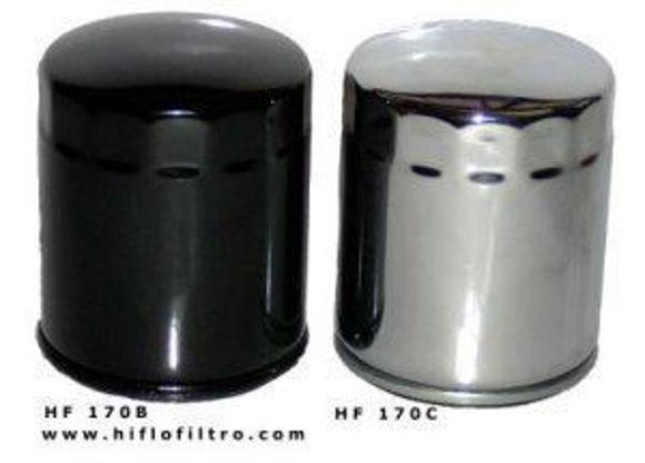 Bilde av Oljefilter HF170B sort x