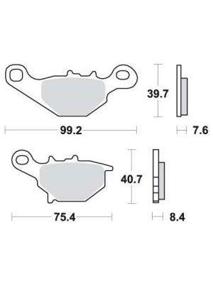 Bilde for kategori Bremseskiver - Bremseklosser /sko