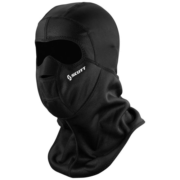 Bilde av Scott Wind Warrior hood Ansiktsmaske - Sort