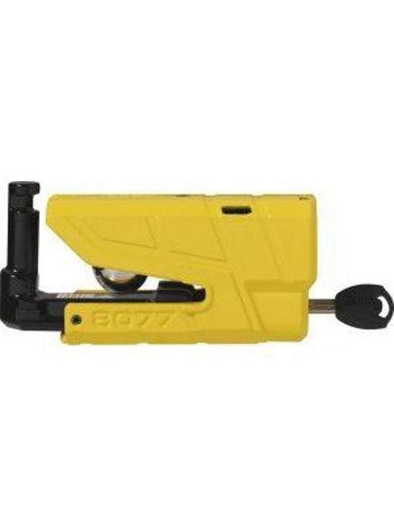 Bilde av ABUS GRANIT Detecto X-Plus 8077 Yellow Skivelås med alarm*