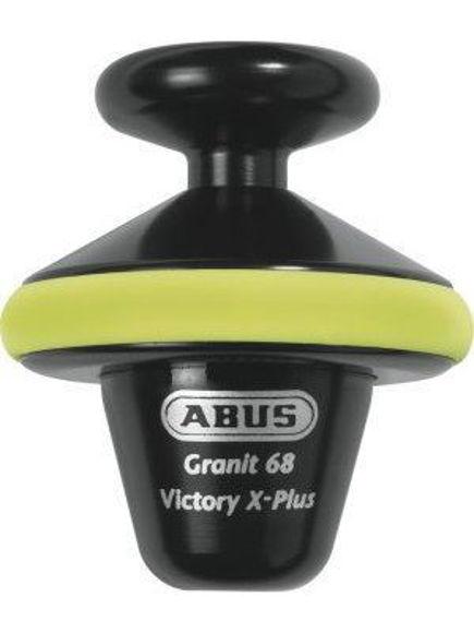Bilde av ABUS GRANIT Victory X-Plus 68 yellow HEL skivelåser *