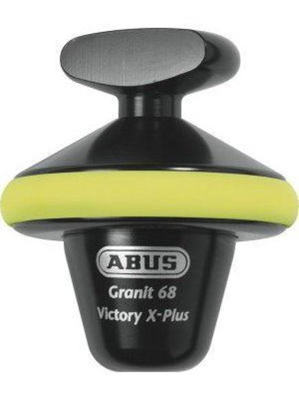 Bilde av ABUS GRANIT Victory X-Plus 68 yellow HALV skivelåser *