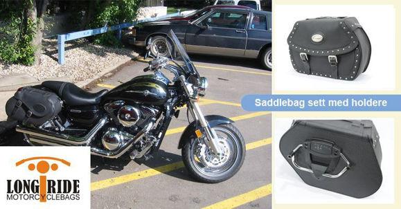Bilde av Long Ride Komplette saddlebag  - Finn bagasje mm til din MC modell *