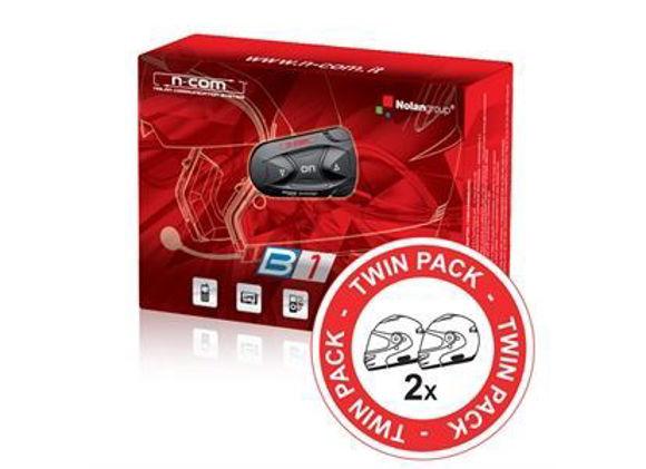 Bilde av Nolan N-Com B1 Bluetooth Kommunikasjon-TwinPac *