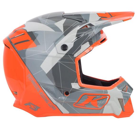 Bilde av Klim F3 Helmet ECE Grå Camo *
