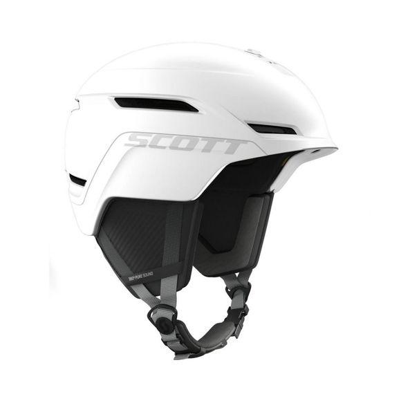 Bilde av Scott Symbol 2+ Hjelm  godkjent til snøscooter - Hvit i
