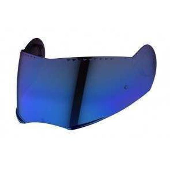 Bilde av Schuberth visir blått speil til E1 for antifog med pinlock