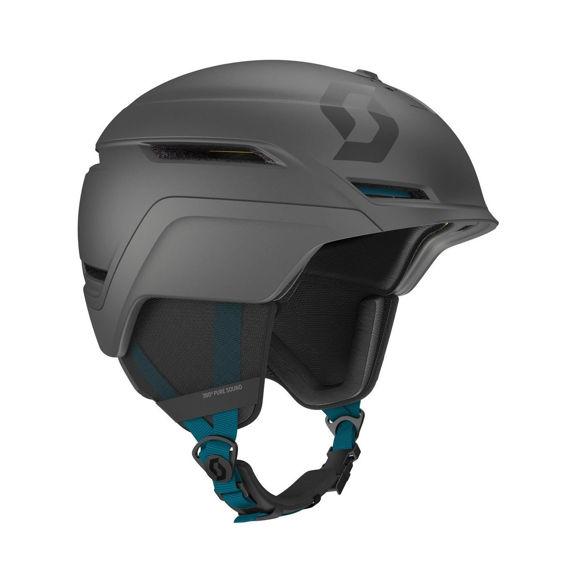 Bilde av Scott Symbol 2+ Hjelm godkjent til snøscooter   - grå/blå i