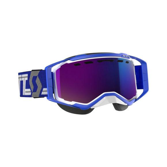 Bilde av Scott Prospect SX Brille Enhancer Teal Krom - Hvit/Blå i