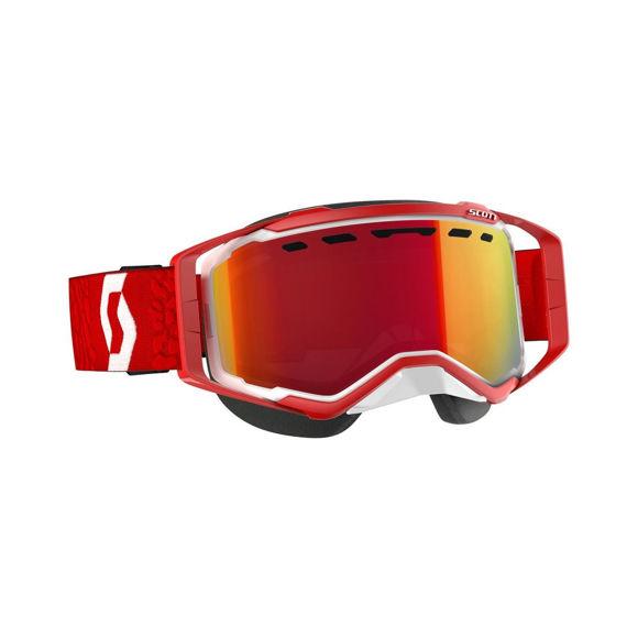 Bilde av Scott Prospect SX Brille Enhancer Rød Krom - hvit/rød i