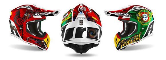 Bilde av Airoh Cross Helmet Aviator 2.3 AMSS Seks dager krom i 2020