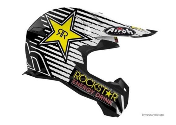 Bilde av Airoh Helmet Terminator Open Vision Rockstar 2020 matt
