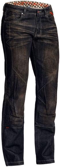 Bilde av Salg Blaze Pants mc bukse dongeri Lindstrands  sort i