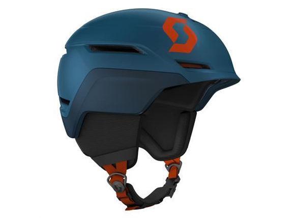 Bilde av Scott Symbol 2+ Hjelm  godkjent til snøscooter - Blå/Ora i