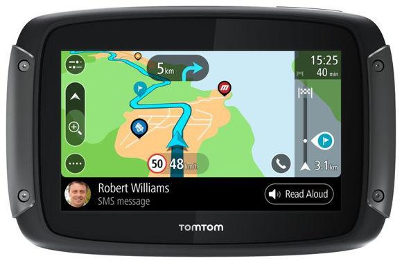 Bilde av TomTom RIDER 550 World Premium Pack (EMEA) GPS for MC/Bil/Snøscooter z