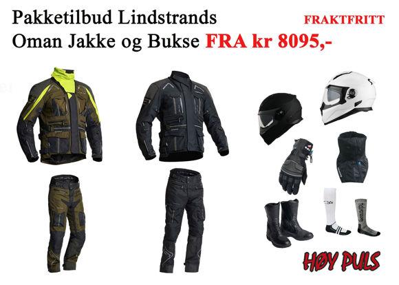 Bilde av Pakkepris MC Oman jakke og Oman Pants bukse FRAKTFRITT z