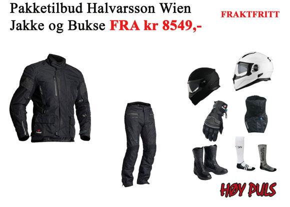 Bilde av Pakkepris MC Wien jakke og W Pant bukse FRAKTFRITT z