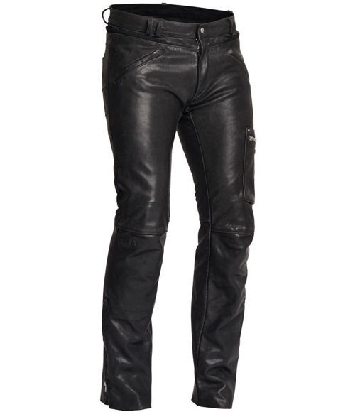 Bilde av SALG Rider Pants mc bukse skinn Halvarsson