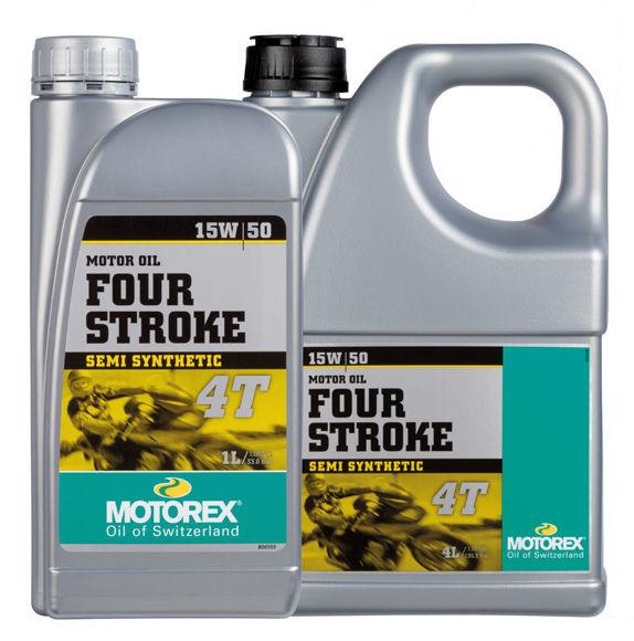 Bilde av MOTOREX 4-Stroke Motor Oil 4T SAE 15W/50