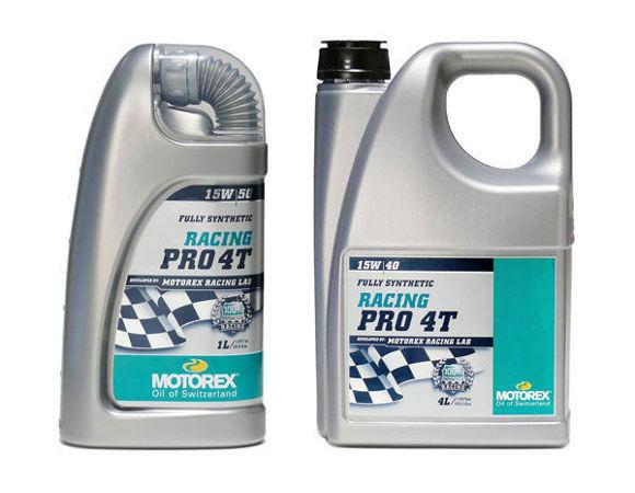 Bilde av MOTOREX MX / Cross  Racing Pro 4T SAE 5W/30