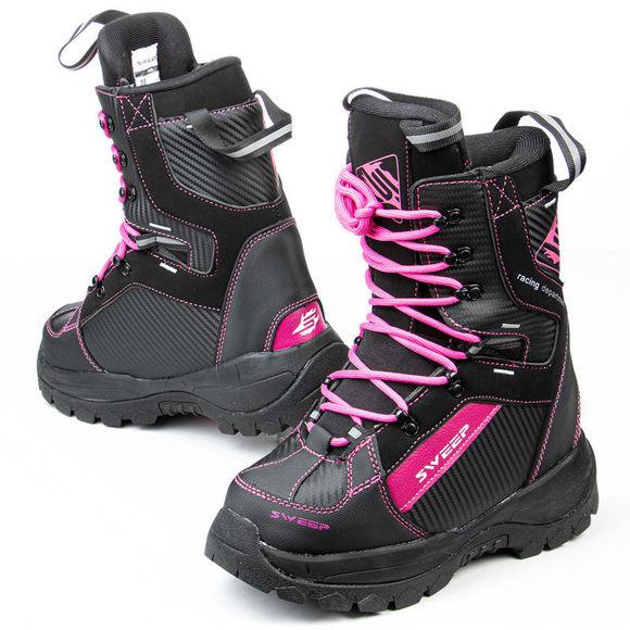 Bilde av Sweep Yeti snøscooterstøvle dame svart / rosa i