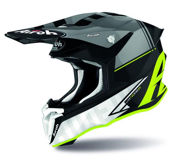Bilde av Airoh Helmet Twist 2.0 Tech gul matt i