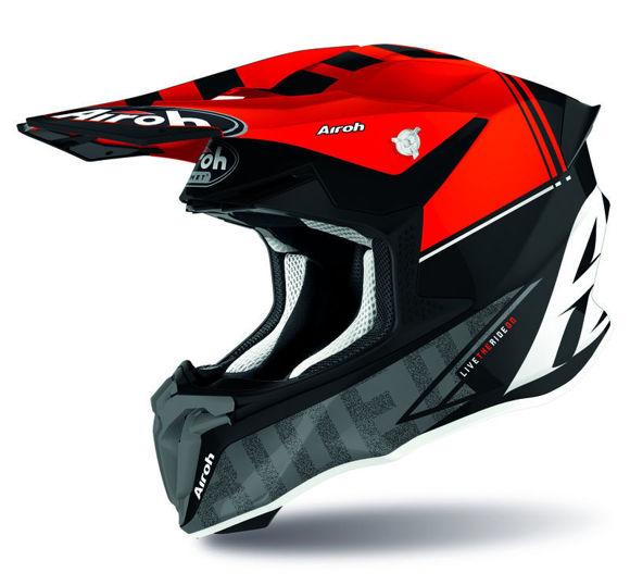 Bilde av Airoh hjelm Twist 2.0 Tech rød i