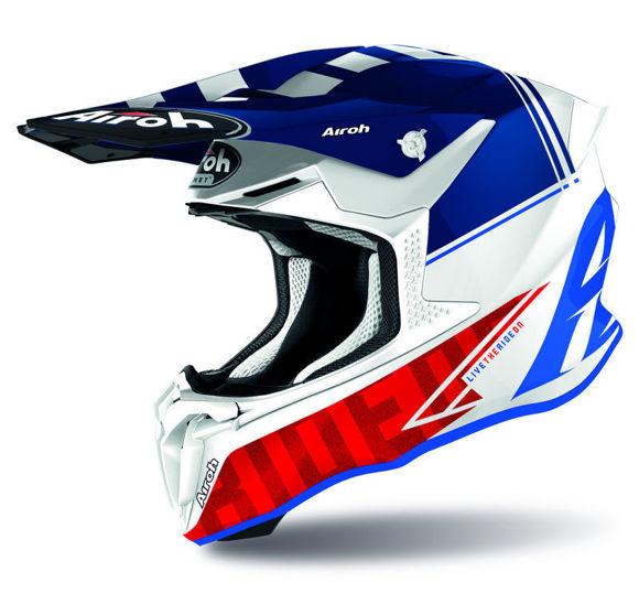 Bilde av Airoh hjelm Twist 2.0 Tech blå i