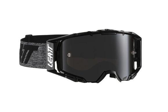Bilde av Leatt Goggle Velocity 6.5 Iriz Black / Grey Platinum ultra kontrast 28% i