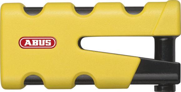 Bilde av ABUS GRANIT Sledg 77 grip yellow skivelås
