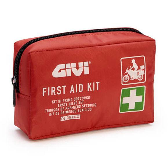 Bilde av Praktisk førstehjelp pakke for mc