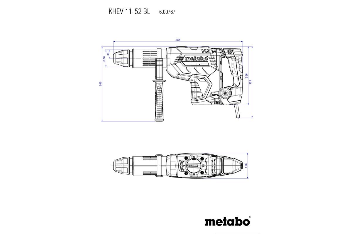 METABO KOMBIHAMMER KHEV 11-52 BL