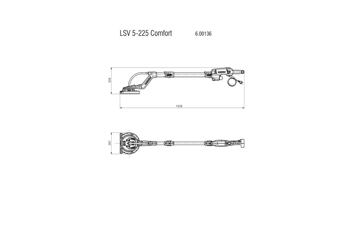 METABO GIRAFFSLIPER LSV 5-225 COMFORT