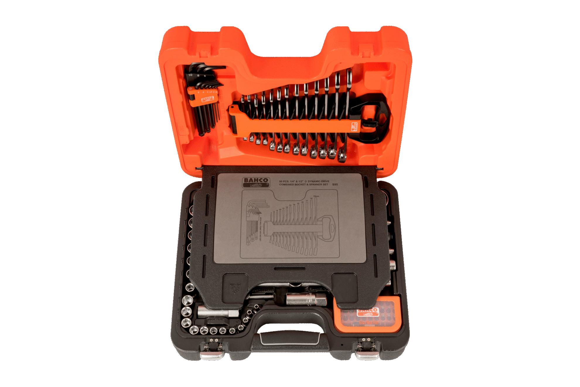 Bahco pipesett 95 deler S95