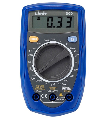 LIMIT MULTIMETER 300