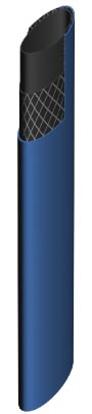 FLATSLANGE BLÅ PVC