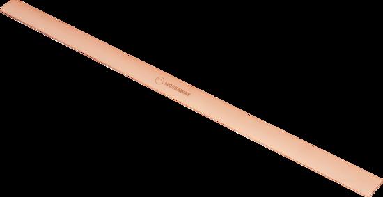 Beslag for papptak i kobber