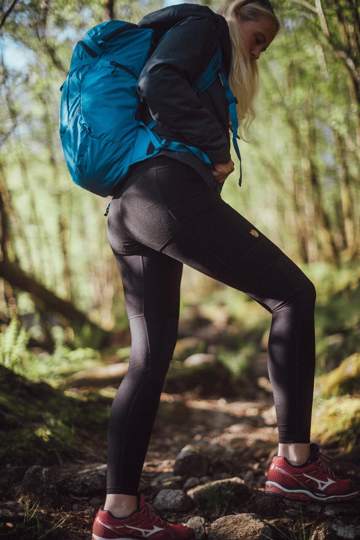 Fjällräven abisko trekking tights w 550 black Nava Sport