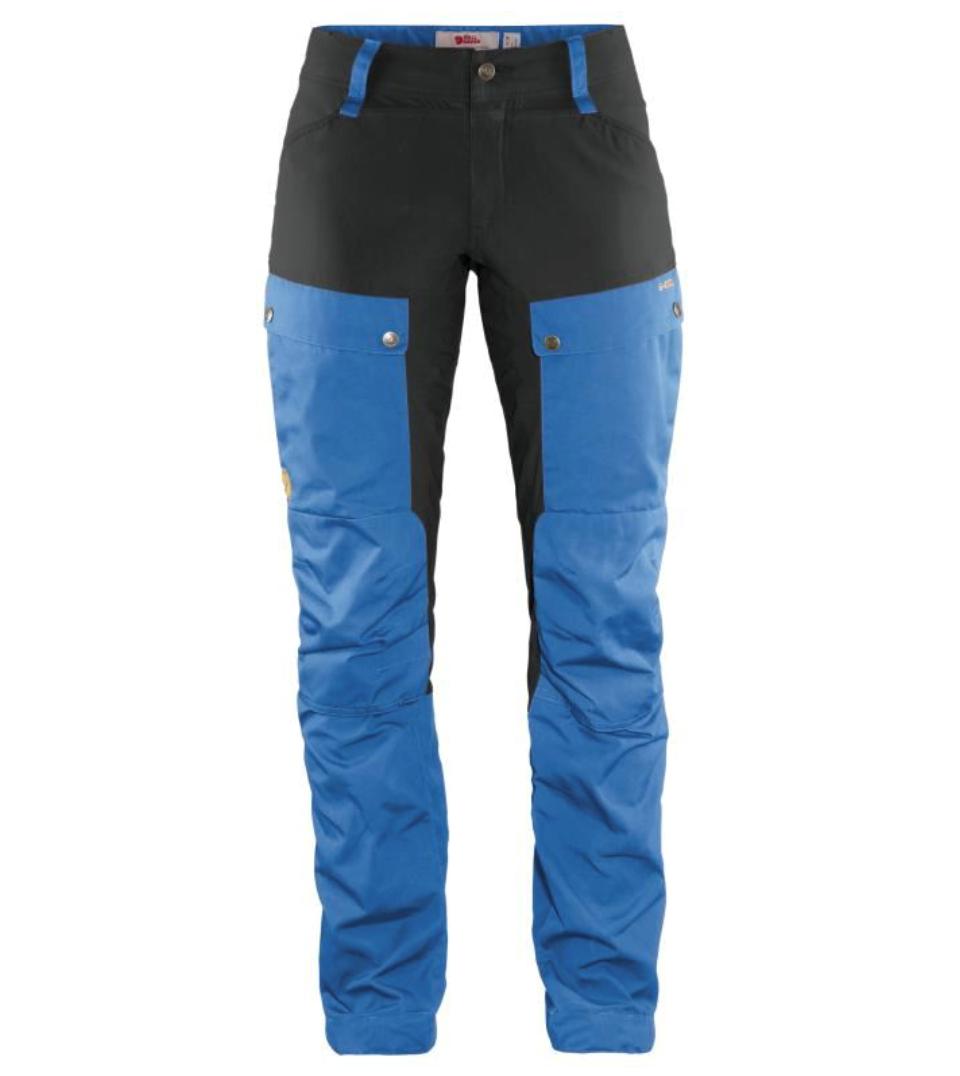 Bilde av Fjällräven  Keb Trousers Curved W Reg 525-018 Un Blue-Stone Grey